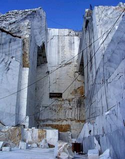 Apuan Alps marble quarries